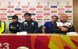 """HLV U23 Hàn Quốc tuyên bố vô địch, thầy Park nói """"hãy chờ đấy!"""""""