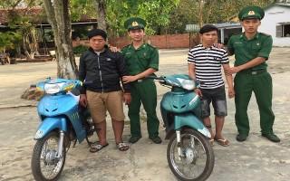 Đồn Biên phòng Kà Tum: Bắt đối tượng vận chuyển xe máy trái phép sang Campuchia