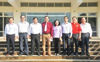 Phó Chủ tịch Hội CTĐ Việt Nam thăm và làm việc tại Tây Ninh