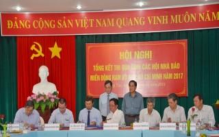 Cụm các Hội Nhà báo miền Đông Nam bộ và TP.Hồ Chí Minh tổng kết thi đua năm 2017