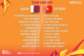 U.23 Việt Nam vào chung kết châu Á
