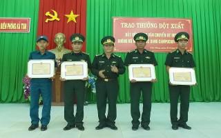 Khen thưởng tập thể, cá nhân trong đấu tranh  phòng chống tội phạm