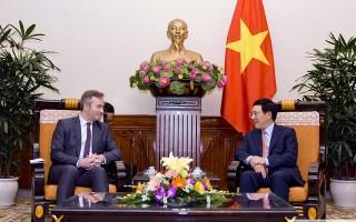 Pháp là đối tác kinh tế châu Âu hàng đầu của Việt Nam