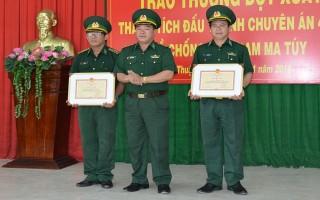 Bộ Tư lệnh BĐBP khen thưởng đột xuất BĐBP tỉnh Tây Ninh