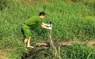 Phát hiện Nhà máy sản xuất tinh bột Tân Châu xả thải chưa qua xử lý ra môi trường