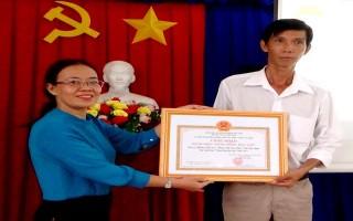 """Công nhận """"Cộng đồng học tập"""" phường Ninh Sơn"""
