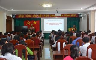 Ban Tuyên giáo Tỉnh ủy tổ chức hội nghị báo cáo viên tháng 1.2018