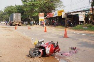 Tân Biên: Tai nạn giao thông, 1 người chết tại chỗ