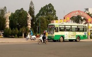 Điều chỉnh tuyến xe buýt từ thành phố Tây Ninh đi Kà Tum