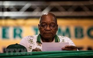 Đương kim Tổng thống Nam Phi Jacob Zuma bị yêu cầu từ chức