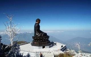 Khánh thành Đại tượng Phật A Di Đà lớn nhất Việt Nam trên đỉnh Fansipan