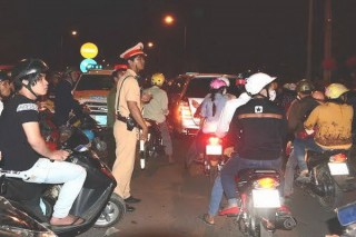 Phân luồng giao thông tránh ùn tắc trong đêm giao thừa và ngày khai mạc Hội xuân Núi Bà