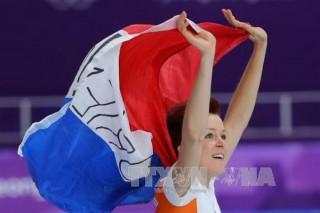 Lần đầu tiên trong lịch sử, một nữ VĐV giành huy chương ở hai môn thi đấu