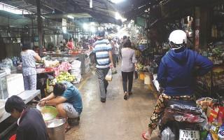 Nhiều chợ chưa trang bị hệ thống chữa cháy theo quy định