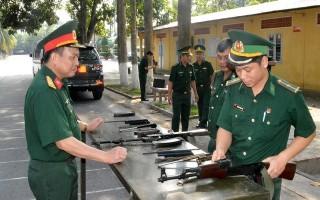 Kiểm tra công tác huấn luyện năm 2018 của BĐBP Tây Ninh