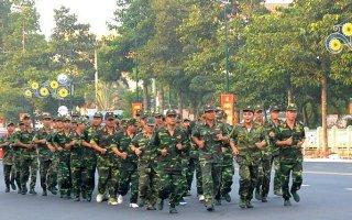 Bộ CHQS tỉnh Tây Ninh hưởng ứng Ngày chạy thể thao quân sự thế giới