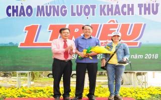 Khu du lịch quốc gia núi Bà Tây Ninh đón du khách thứ 1 triệu