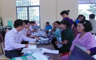 Năm 2017 Ngân hàng CSXH Châu Thành huy động vốn được gần 300 tỷ đồng