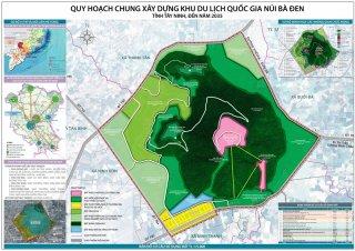 Lấy ý kiến lập QHC Khu du lịch quốc gia Núi Bà Đen