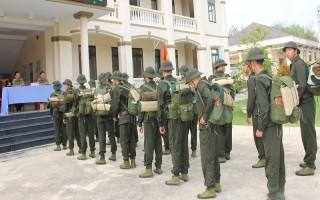 Công an Tây Ninh tiếp nhận công dân nhập ngũ
