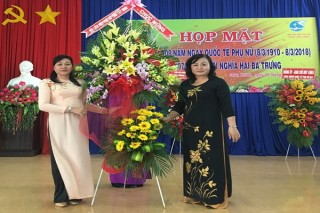 Các địa phương, đơn vị họp mặt kỷ niệm ngày Quốc tế phụ nữ 8.3