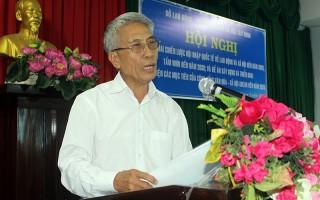Triển khai Đề án xây dựng và thực hiện các mục tiêu của Cộng đồng văn hóa Asean