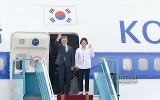 Tổng thống Hàn Quốc thăm Việt Nam