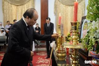 Quốc tang nguyên Thủ tướng Phan Văn Khải