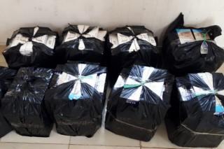 Tịch thu gần 2.500 gói thuốc lá ngoại nhập lậu