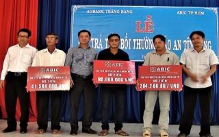 Agribank Trảng Bàng: Chi trả bảo hiểm tiền vay tín dụng cho khách hàng