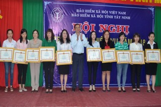 Năm 2017 BHXH Tây Ninh thu hơn 3.391 tỷ đồng
