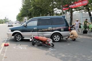 Va chạm ô tô, 1 người bị thương nặng