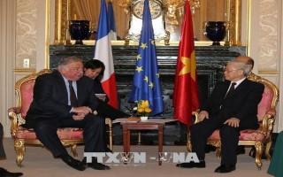 Tổng Bí thư hội kiến Chủ tịch Thượng viện Cộng hòa Pháp