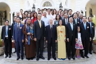Tổng bí thư Nguyễn Phú Trọng hội kiến Chủ tịch Quốc hội Cuba