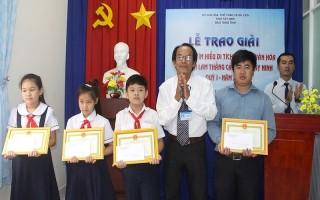 Trao giải cuộc thi tìm hiểu di tích lịch sử, văn hóa tỉnh Tây Ninh