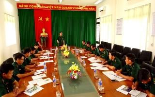 Phó Tư lệnh BĐBP kiểm tra công tác chống buôn lậu trên biên giới Tây Ninh