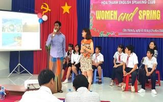Hoà Thành: Tổ chức CLB tiếng Anh cho học sinh