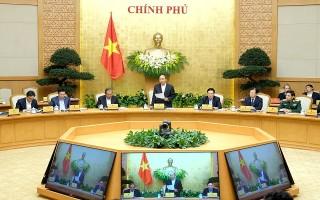 Chính phủ họp phiên thường kỳ tháng 3/2018