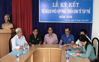Liên minh HTX và các tổ chức chính trị - xã hội ký kết phối hợp phát triển kinh tế tập thể