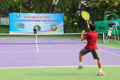 Khai mạc Giải quần vợt đơn nam bán chuyên nghiệp- Cúp Hải Đăng
