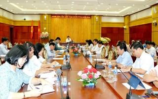 BCĐ thực hiện những giải pháp đột phá họp phiên thường kỳ tháng 3
