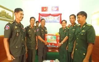BĐBP Tây Ninh: Thăm, chúc tết lực lượng vũ trang 3 tỉnh biên giới tiếp giáp
