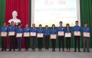 Thi Báo cáo viên, tuyên truyền viên giỏi huyện Dương Minh Châu