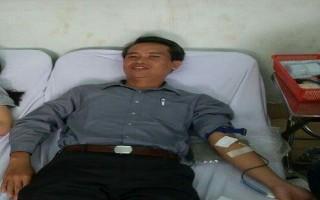 Một gia đình tích cực tình nguyện hiến máu