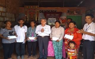 Thăm, chúc tết Chol Chnam Thmay tại Tân Biên