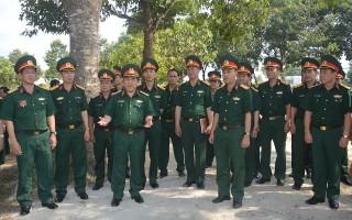 Bộ Tổng tham mưu QĐND Việt Nam kiểm tra công tác tại Sư đoàn 5