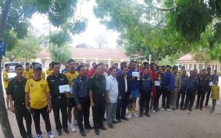 Giao lưu bóng chuyền mừng tết cổ truyền Chol Chnam Thmay