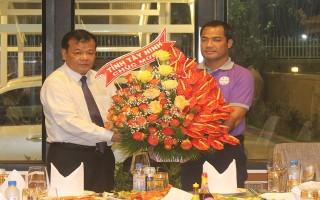 Chủ tịch UBND tỉnh Tây Ninh dự khai hội đầu xuân tại tỉnh Prey Veng (Campuchia)