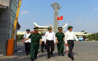 Đoàn công tác Văn phòng Trung ương Đảng thăm, làm việc tại 2 Đồn biên phòng cửa khẩu quốc tế Mộc Bài và Xa Mát