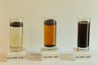 Cách phân biệt cà phê không trộn tạp chất hoặc tẩm nhuộm